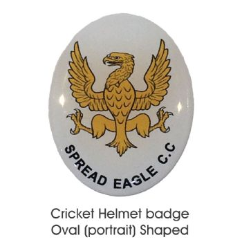 Helmet Badge Oval [Portrait]